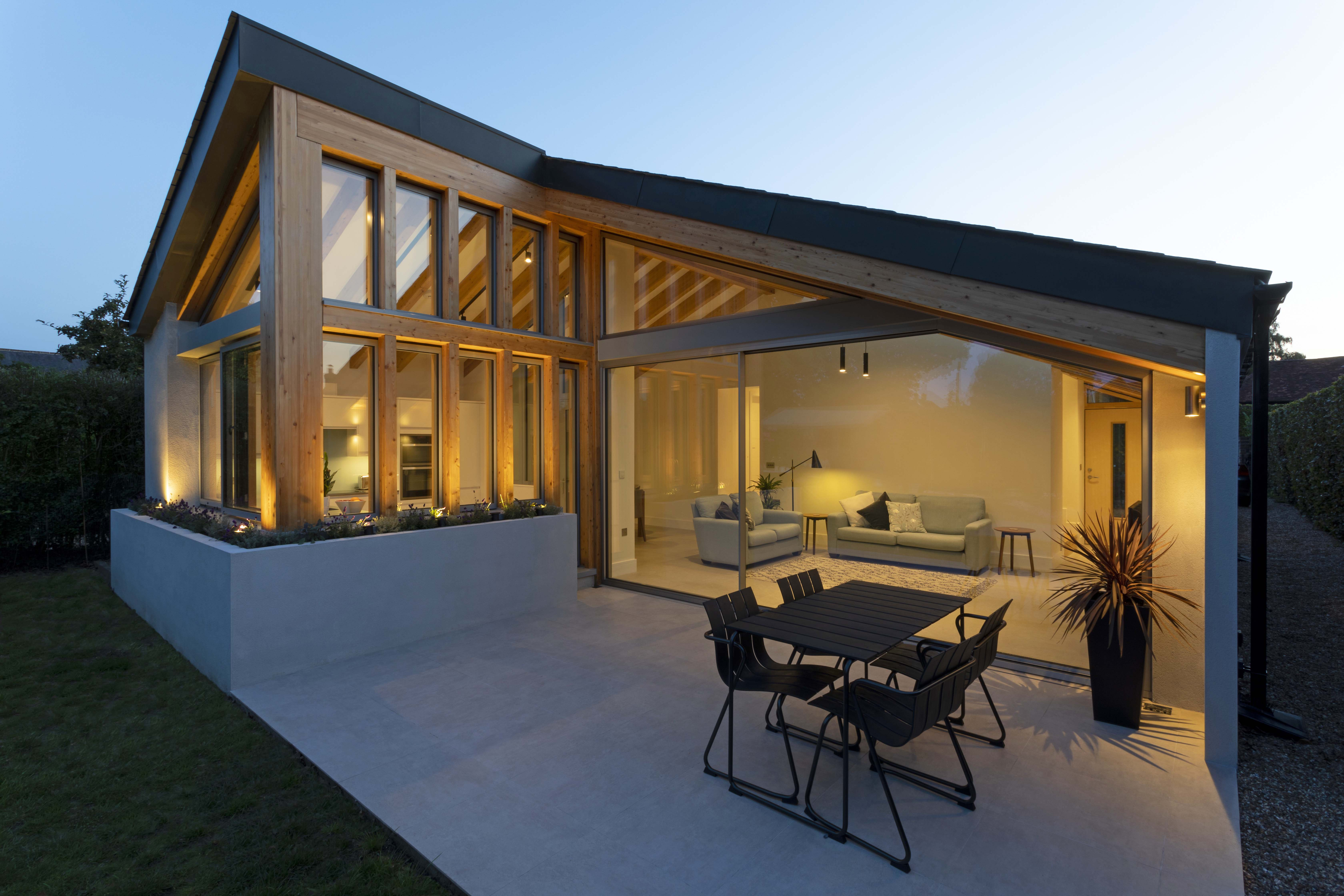 Scandinavian architecture, bungalow, surrey home, house, property, design