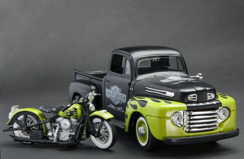 Harley Davidson, toys, toy, toy car, toy motorcycle, model, still-life