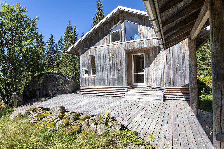 Cabin, hytte, scandinavian architecture